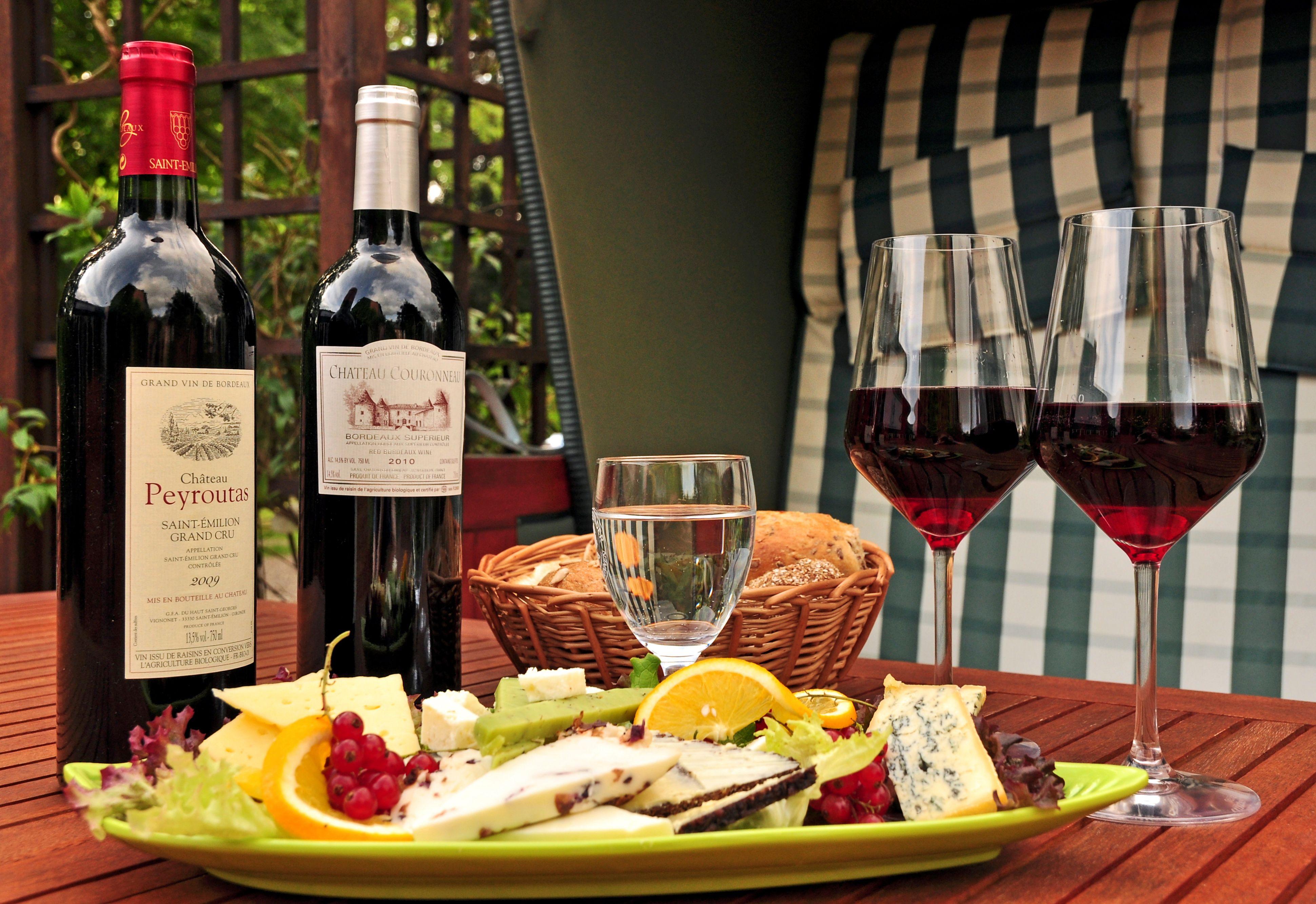 Unsere sommerliche Käse und Wein Variationen. www.biohotel-miramar ...