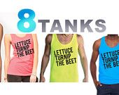 lettuce turnip the beet - unisex sizes S, M, L, or XL  - love love love and came in cute packaging