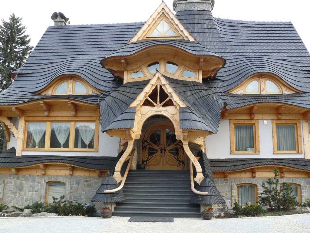 Wooden house in Zakopane Unusual buildings, Amazing