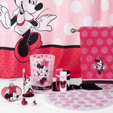 Disney Minnie Mouse Bath Accessories