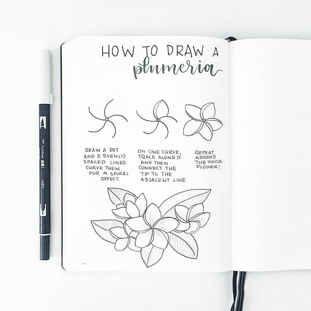 Easy To Draw Little Flowers