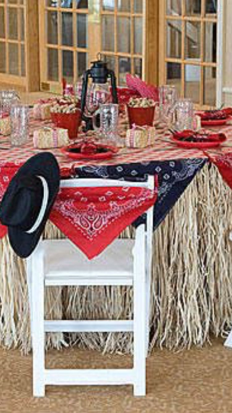 Adult hoedown party ideas