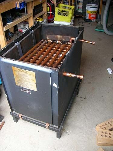 Homemade Propane Pool Heater Propane Or Wood Fired Water Heater For A Hot Tub Pool
