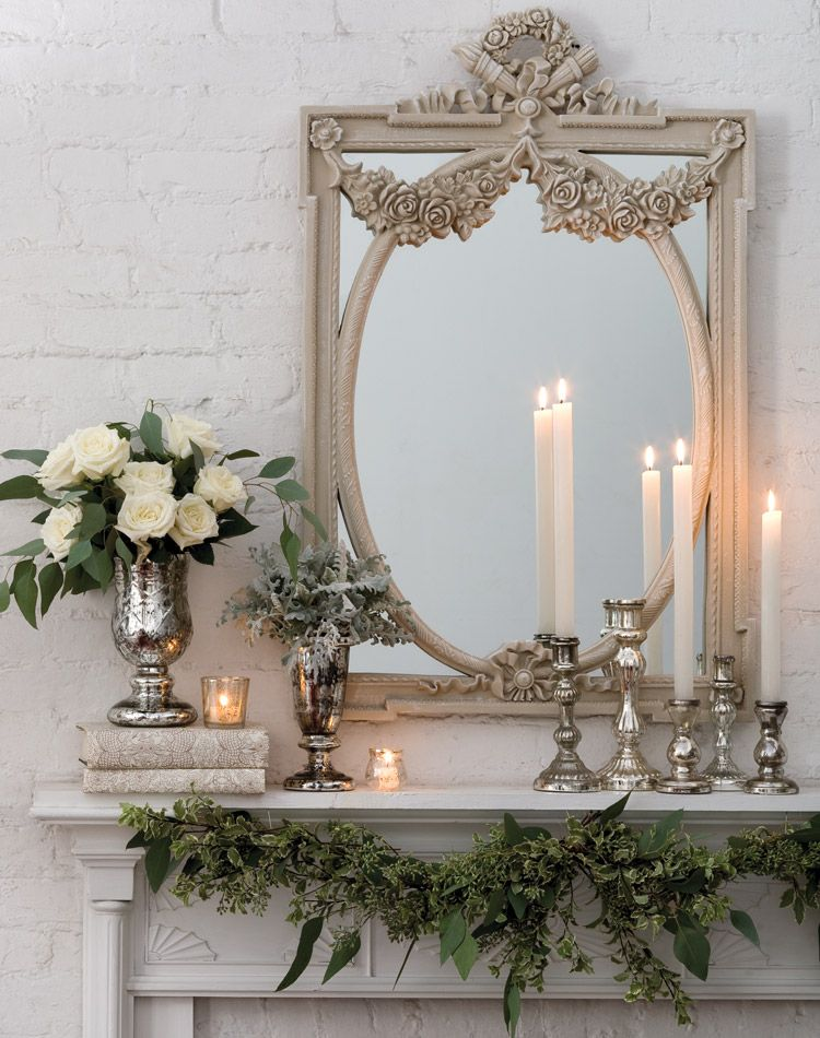 25 Winter Fireplace Mantel Decorating Ideas Home Goods