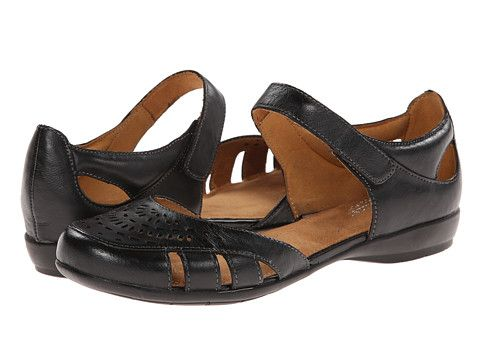 Womens Sandals Naturalizer Gail Black Leather