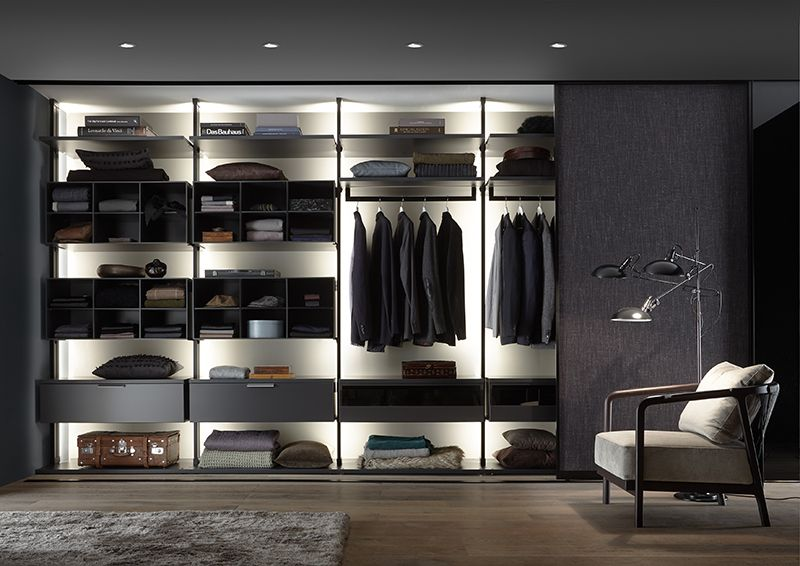 Kleiderschränke Begehbare Kleiderschränke Design Interieur Möbel Einrichten  Modern