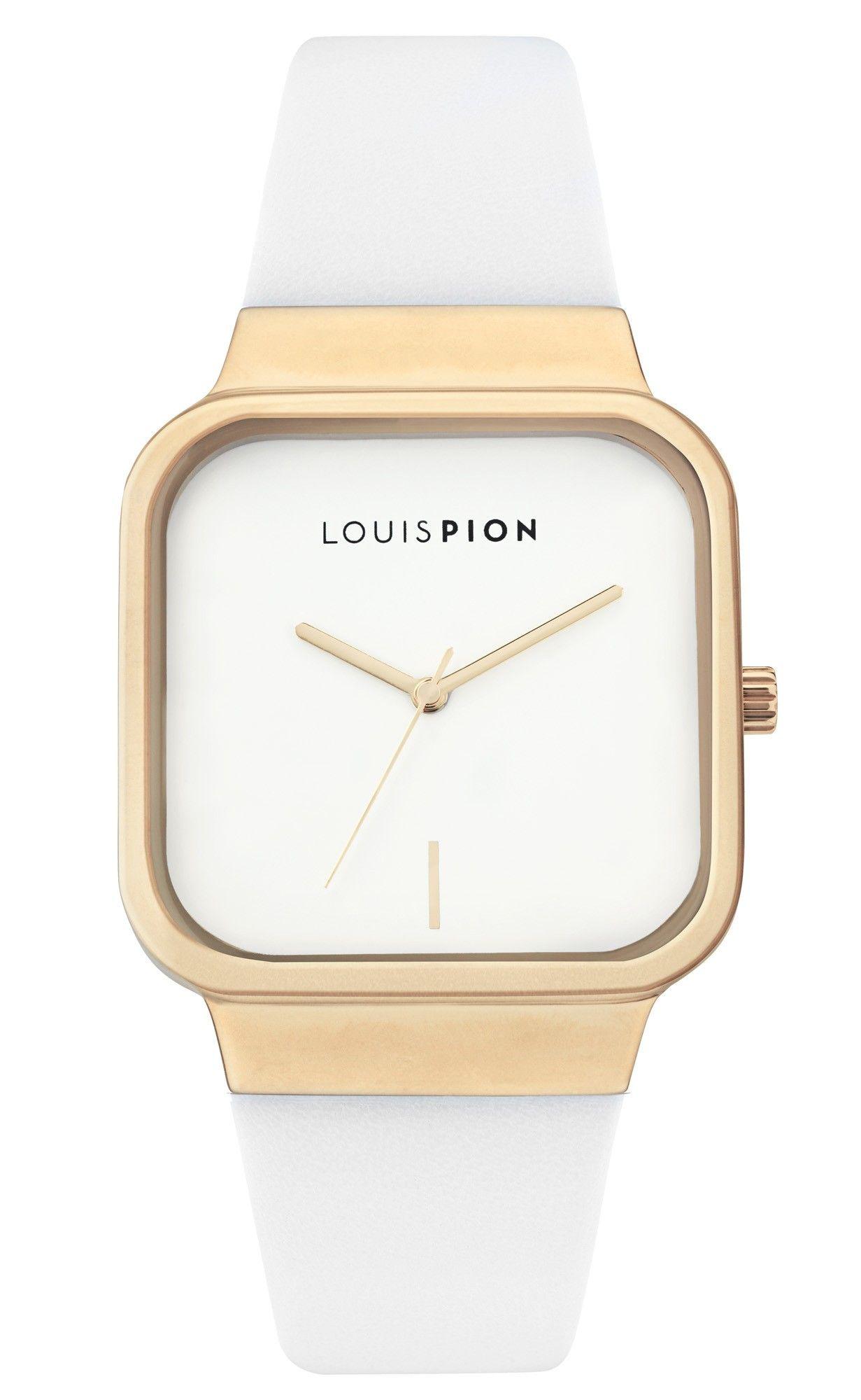 Montre #LouisPion vu dans le #Stylist