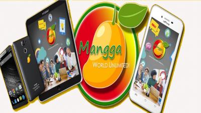 Aplicación mangga world unlimited