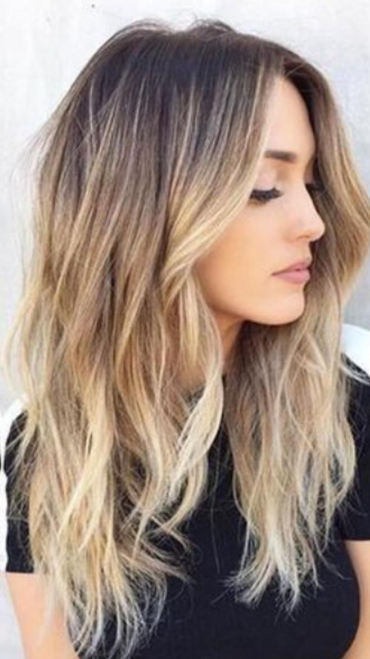 Balayage hair pinterest balayage hair coloring and hair style