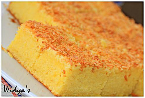 Resep dan Cara Membuat Cake Tape Keju dan Kismis