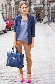 b44c765f2 Resultado de imagen de combinar pantalon marron mujer
