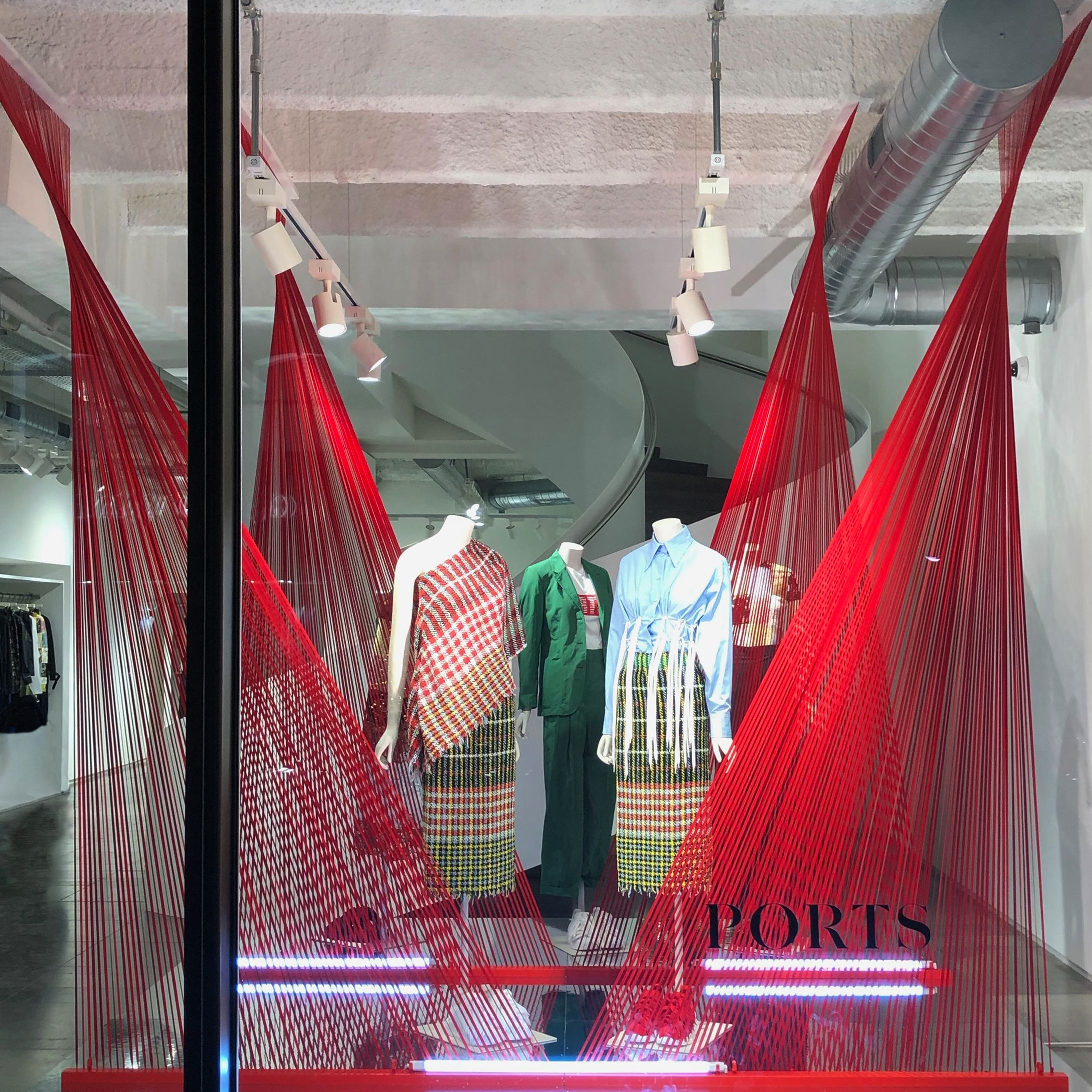Ports 1961 Chinese New Year Window Design Technical Development Production Installation By Acierta In 2020 Window Design Window Display Store Windows