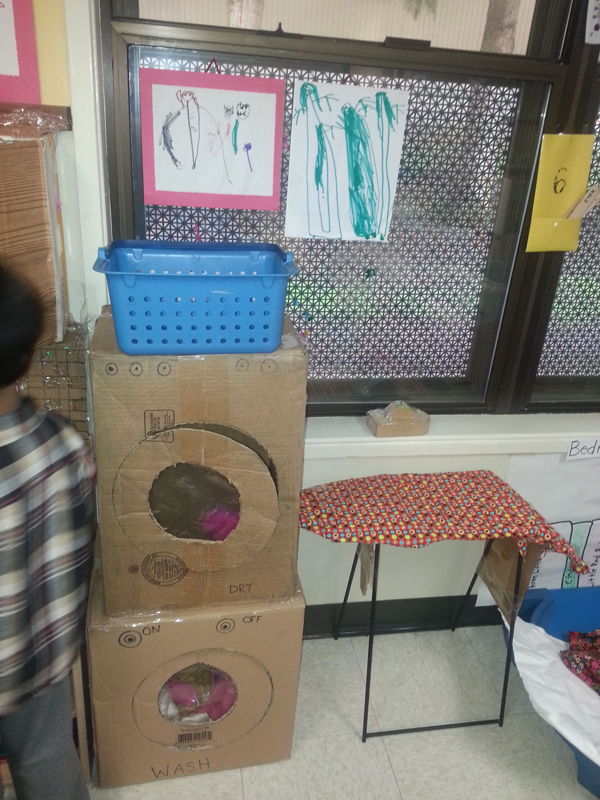 Washer And Dryer Dramatic Play