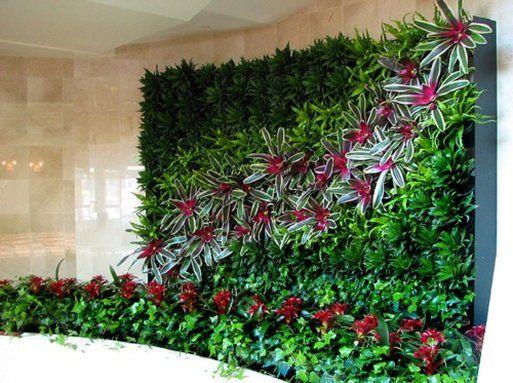 15 jardines verticales de lo más inspiradores y efectos positivos - jardineras verticales