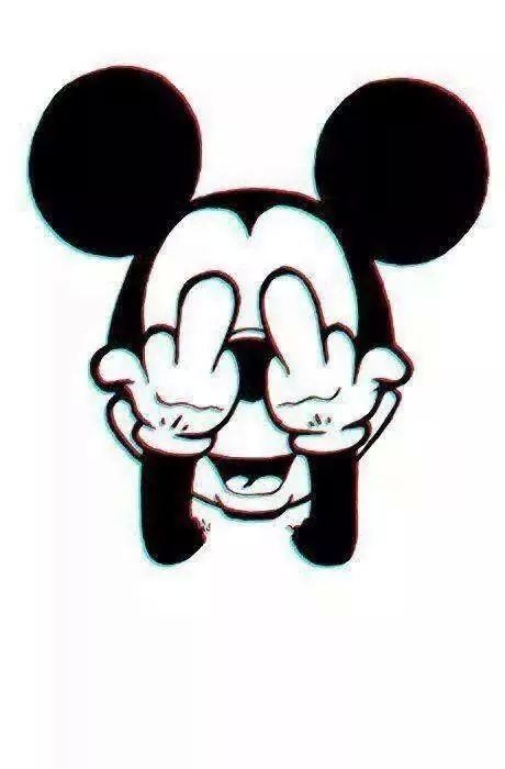 Iphone Wallpaper Mice Mickey Mouse Middle Fingers Minnie