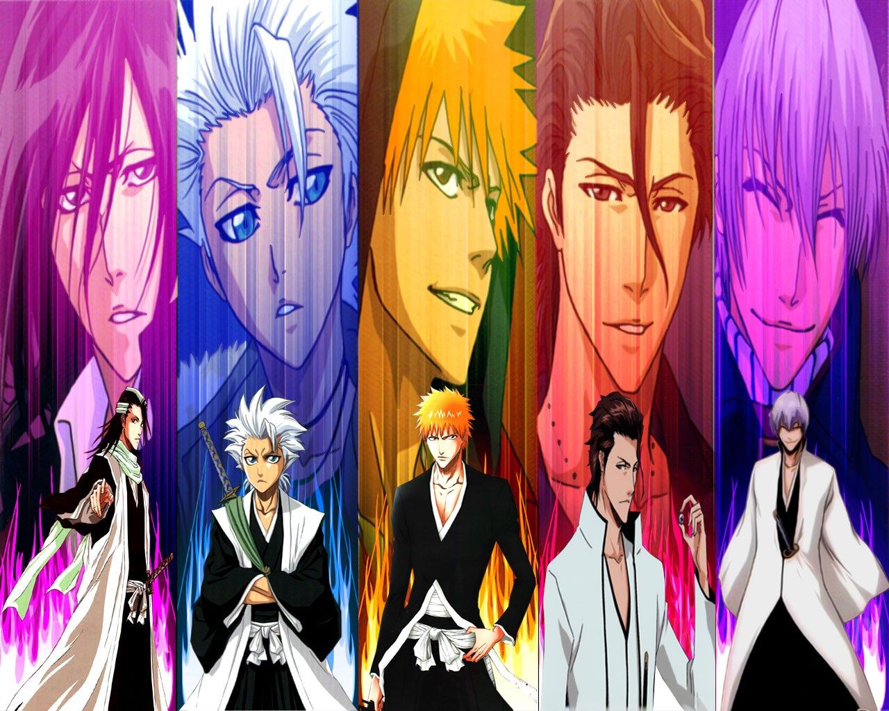 naked guys on bleach characters