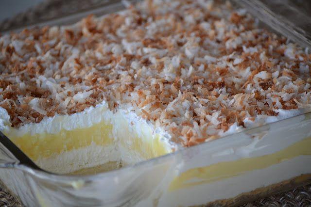new twist on coconut cream pie