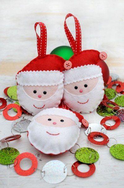 Moldes de Adornos Navideños en Fieltro para Imprimir Gratis1 - objetos navideos