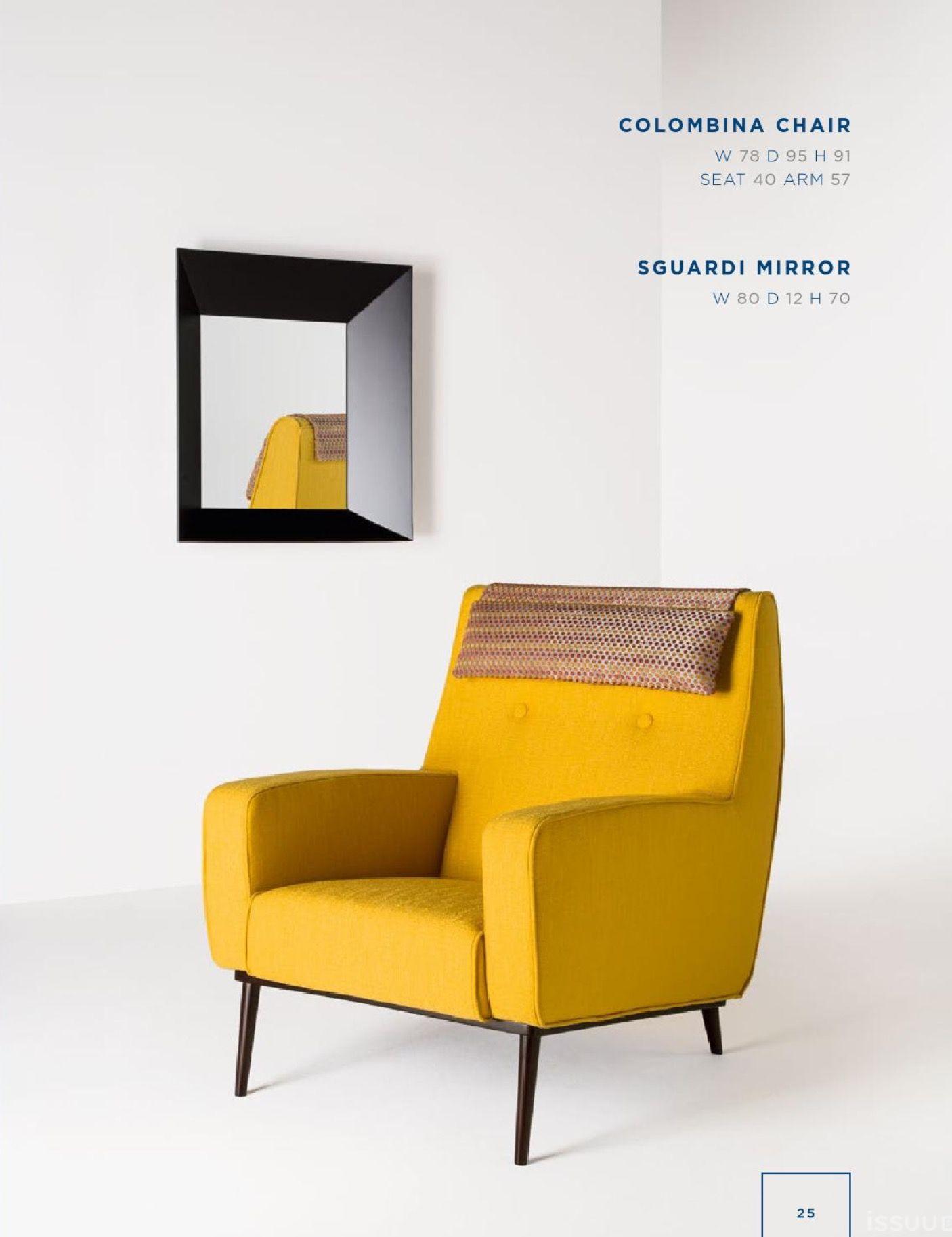 Rubelli Casa Colombina chair Sguardi mirror