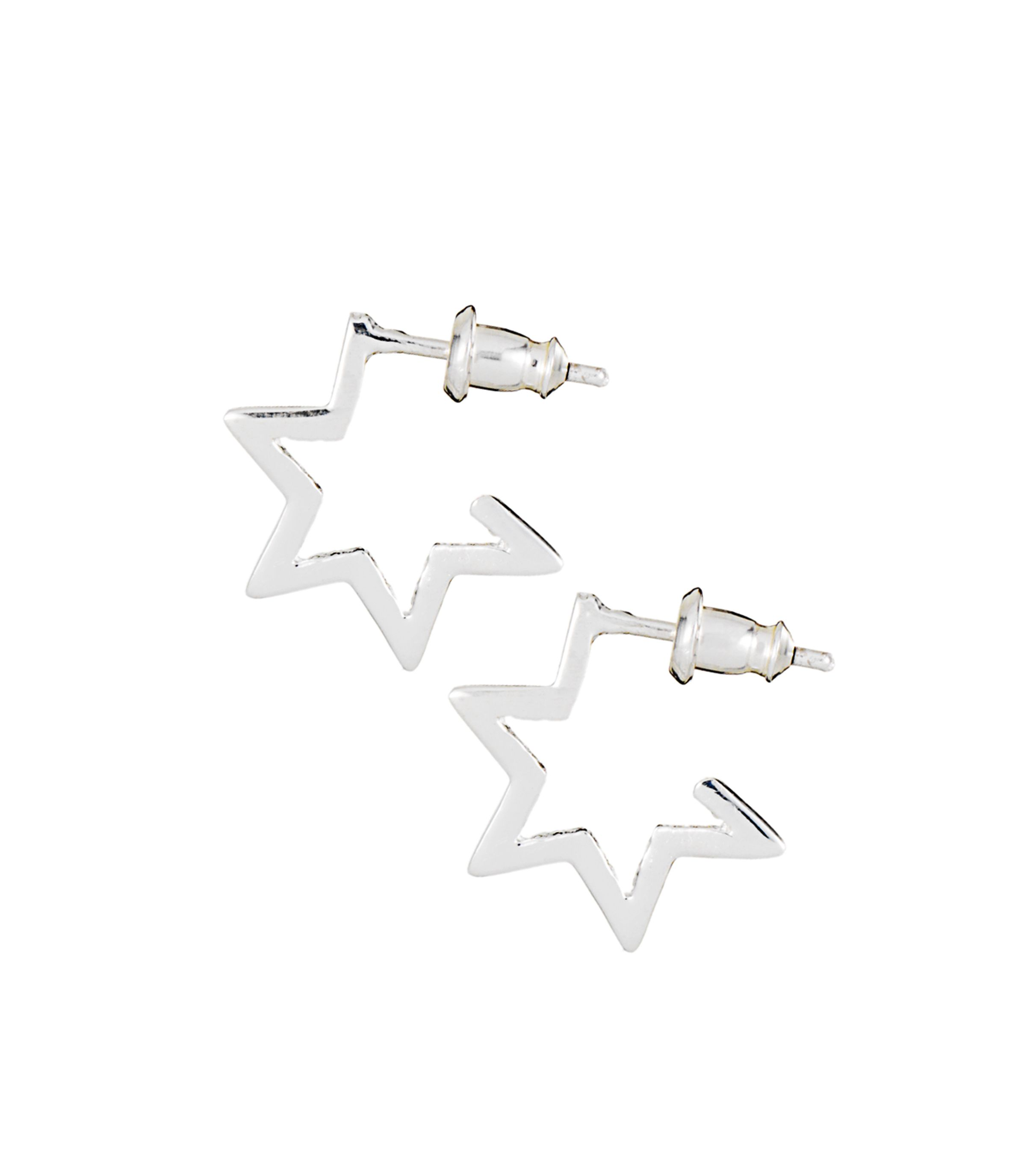 hollowell shaped logan studs bolt with star lightening collections jewelry lightning earrings diamonds thor