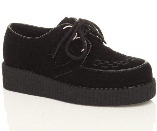 chaussures plateforme punk. Black Bedroom Furniture Sets. Home Design Ideas