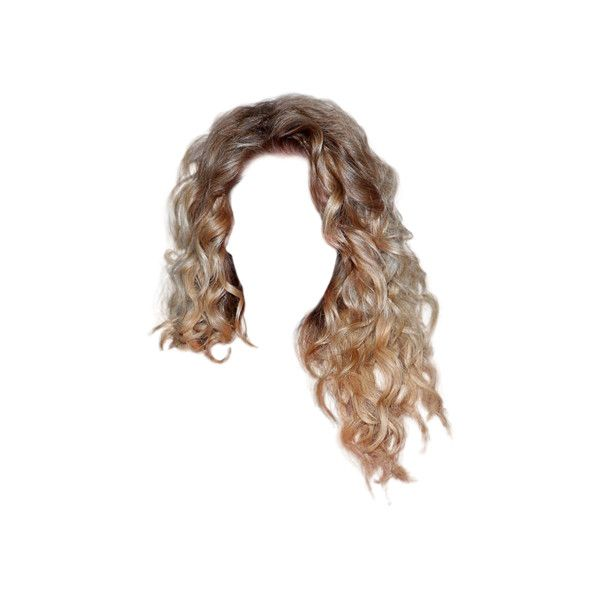 Hair63 Png Liked On Polyvore Featuring Hair Hairstyles Dolls Doll Hair Wigs And Fillers Hair Styles Photoshop Hair Blonde Wavy Hair