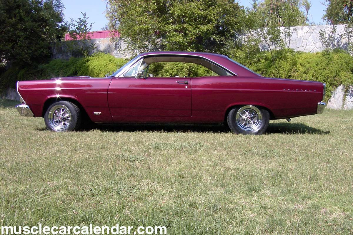 1967 ford fairlane gta 390