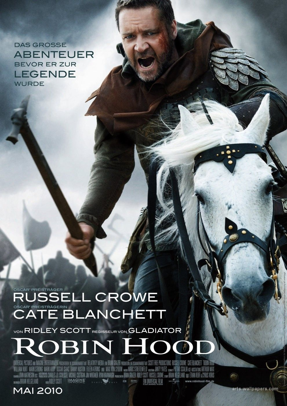 Robin Des Bois Streaming Robin Hood Russell Crowe Cate Blanchett Welcome To Sherwood