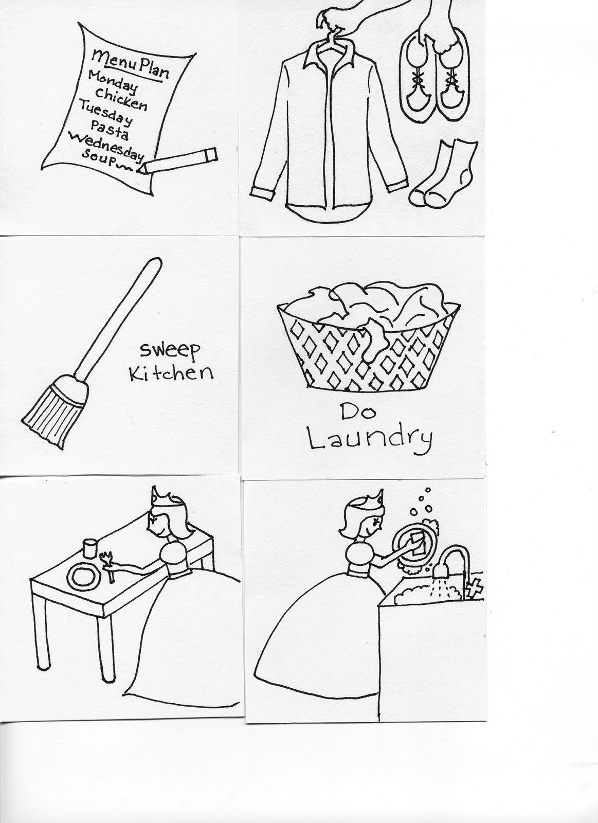 Las Vegas Mama Chore Chart Drawings