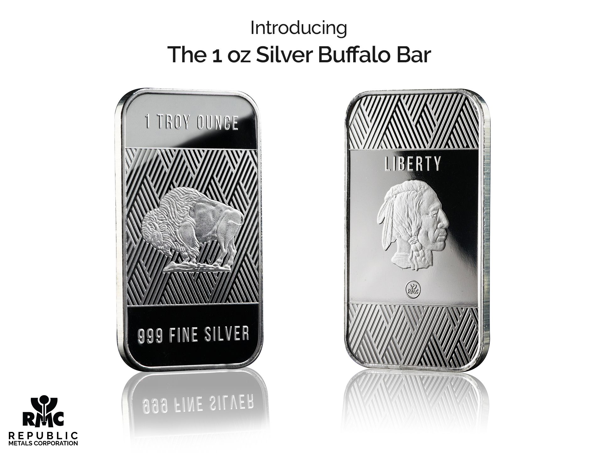 Introducing The New 1 Oz Silver Buffalo Bar A Modern Twist On An American Classic Click To See More Buffalo Bar Silver Silver Bullion