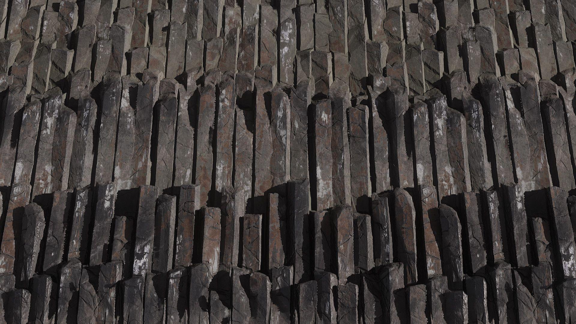 ArtStation - Iceland Series - Basalt Columns, Sergio Acevedo Ruiz