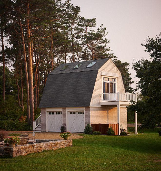 Modern Garage Apartment Designs Ideas 18: Detached Garage With Guest House Above It. #Garage