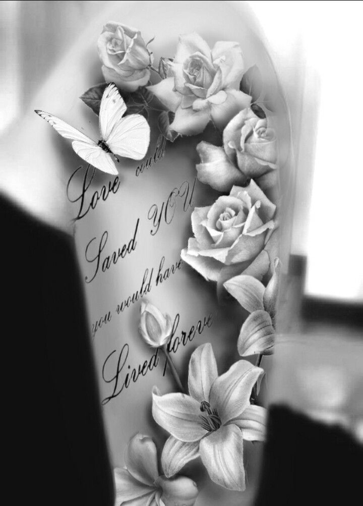 Wenn die Liebe dich hätte retten können  #tattoos