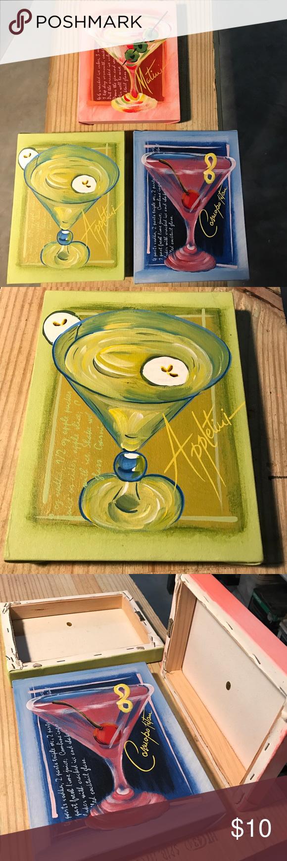 Luxury Martini Glass Wall Art Frieze - Art & Wall Decor - hecatalog.info