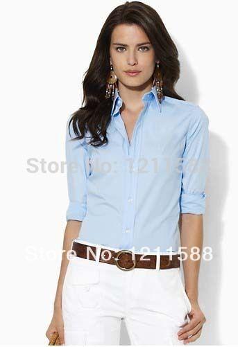 women s business casual collared shirt - Google Search Polo Ralph Lauren, Ralph  Lauren Style, 2054d6b0329a