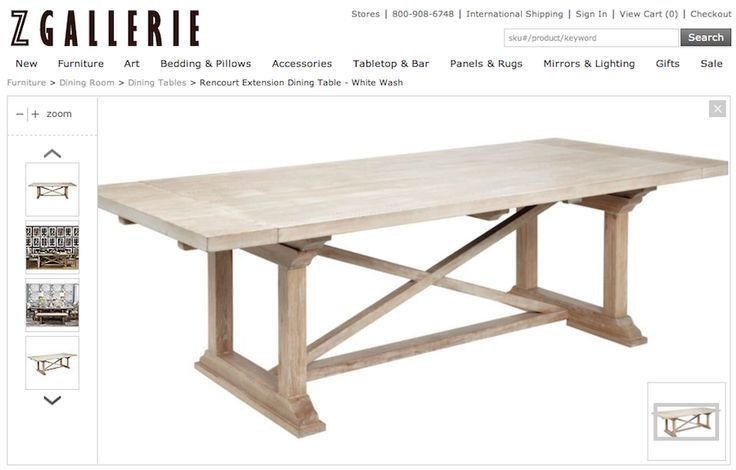 DIY Dining Table: When Movers Wreck Your Stuff   The House of Wood .
