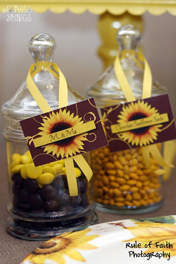 SUNFLOWER Birthday Party Mini COLLECTION  Printable DIY digital in 2019  Party Ideas