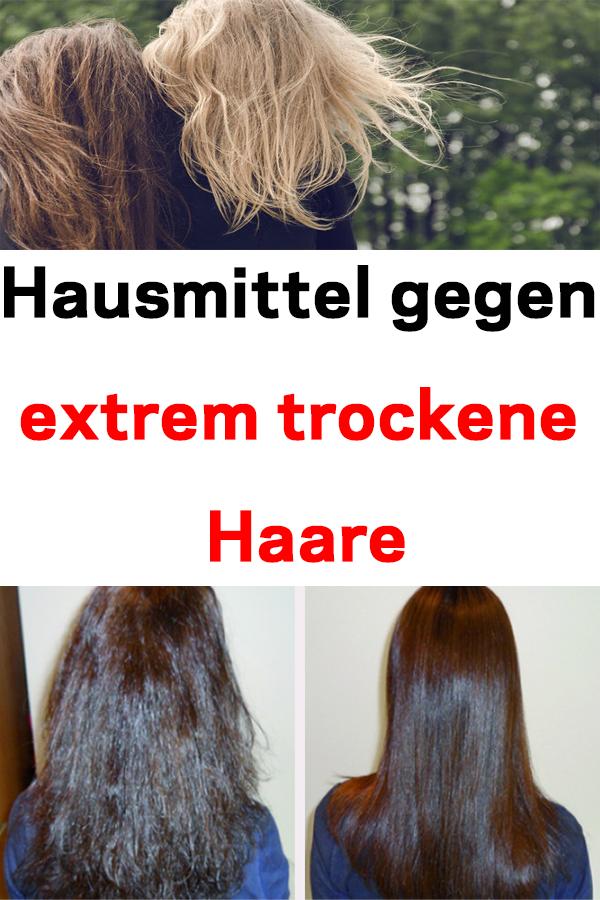 Hausmittel gegen extrem trockene Haare #Hausmittel #trockene_Haare