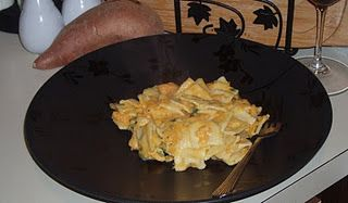 Ravioli with Sweet Potato Sauce