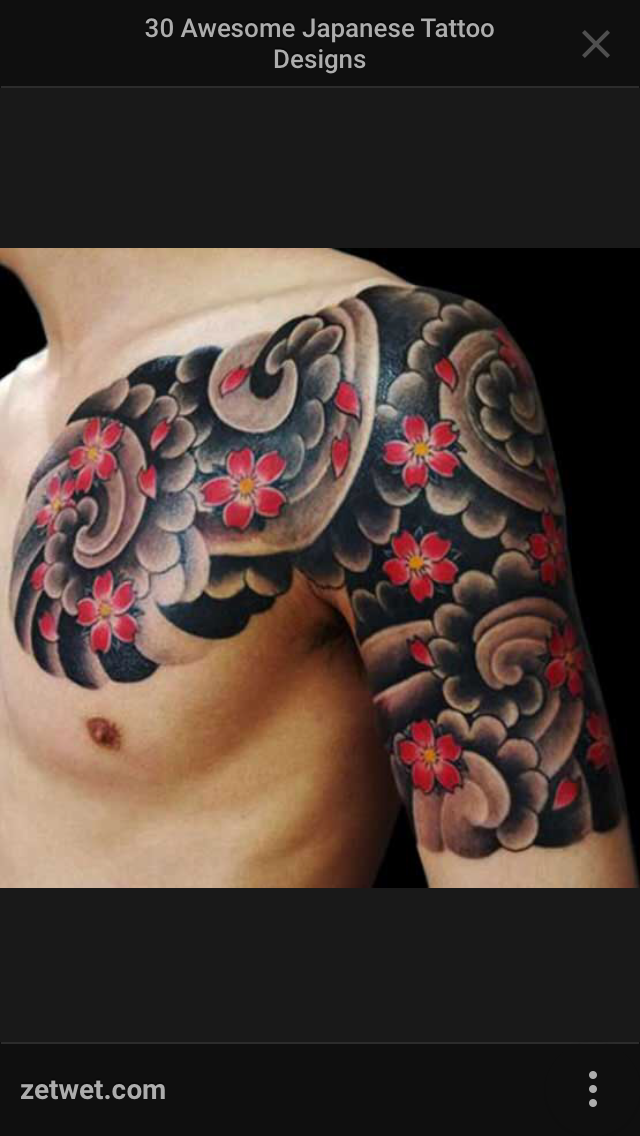 tattoo par Brandon Knowles Tatouages nuages, Manchette