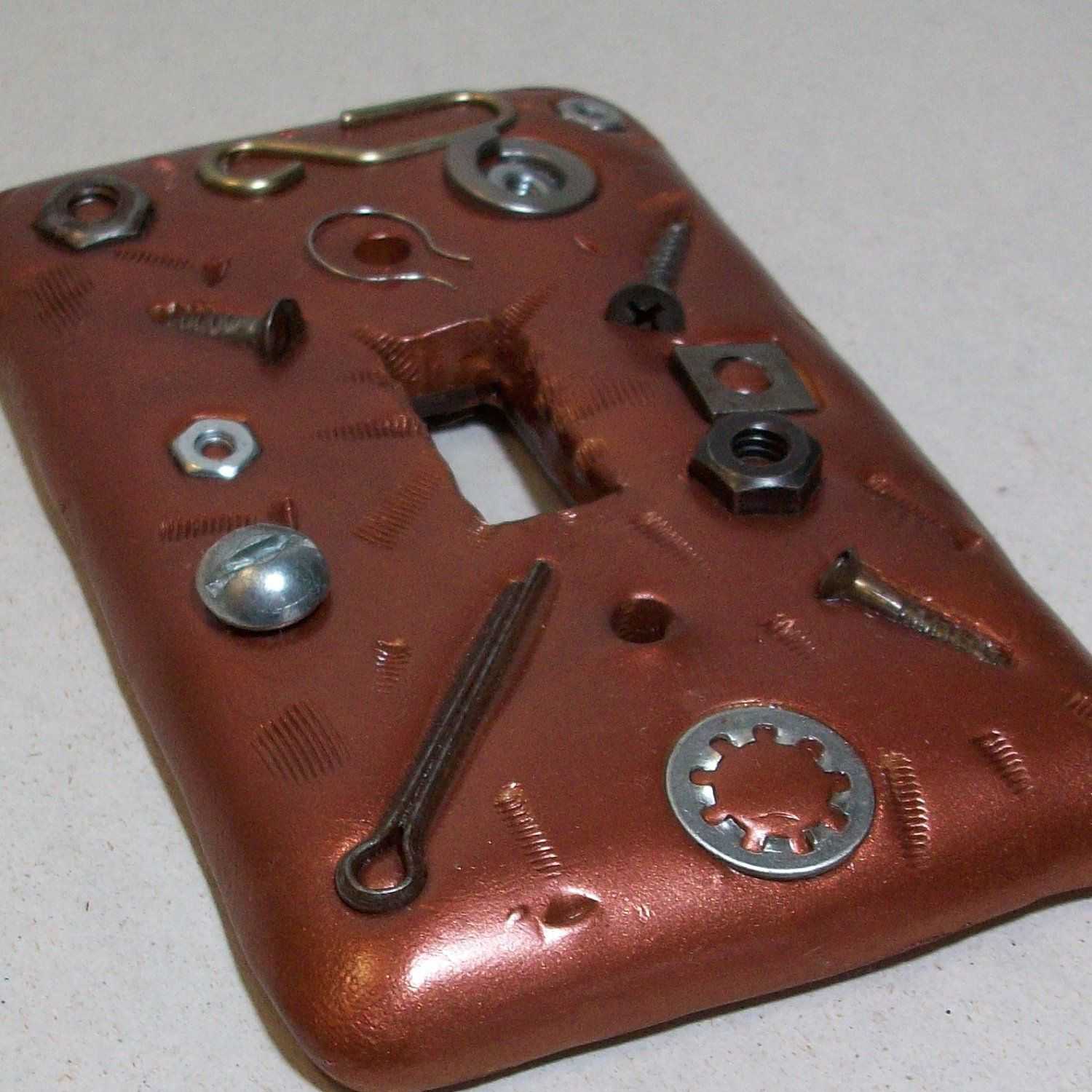 Copper Light Switch Plates Copper Nuts And Bolts Light Switch Cover Clearance By