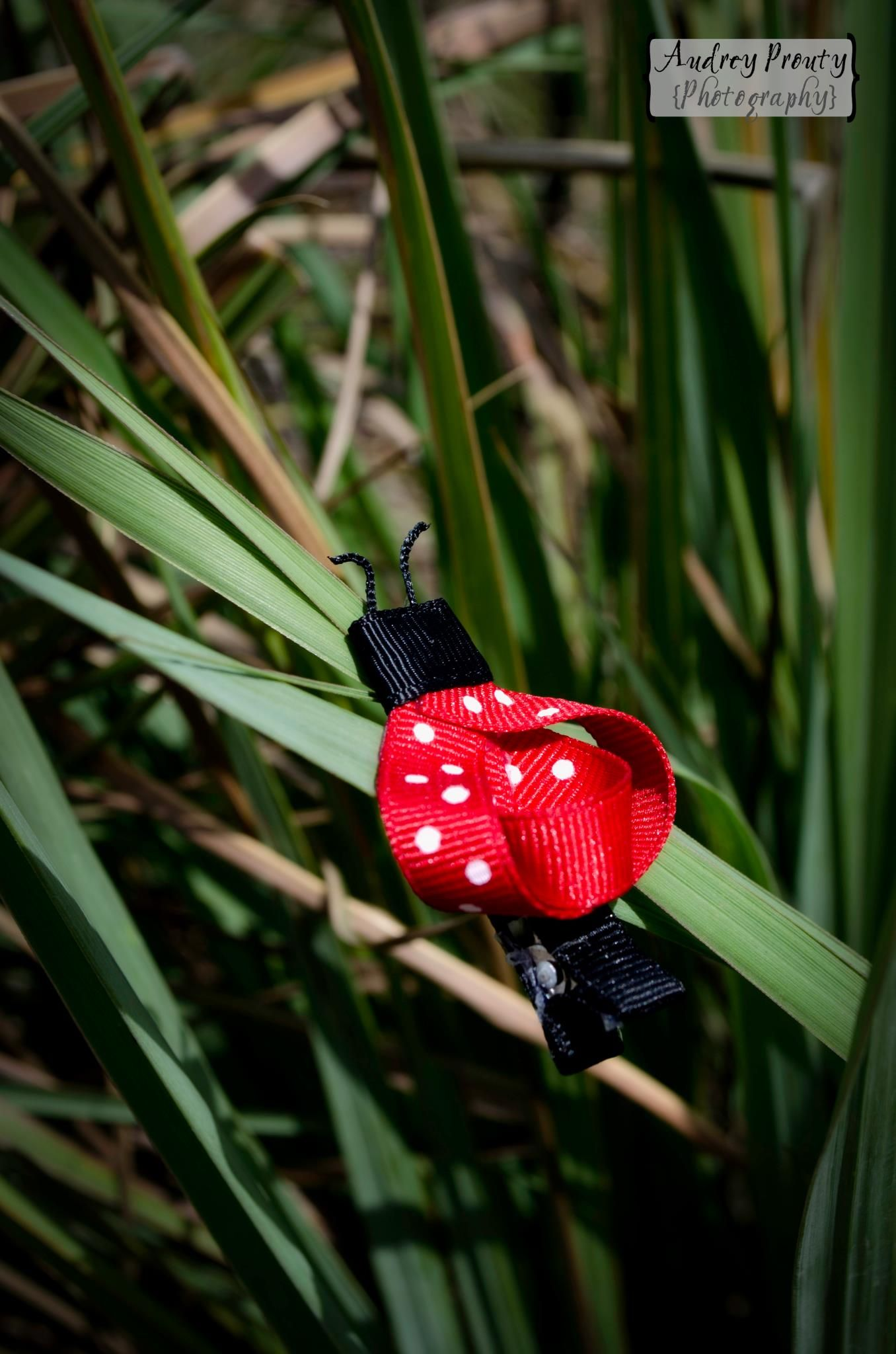 Ladybug Clip $4 Can also make in different colors for your special little girl!