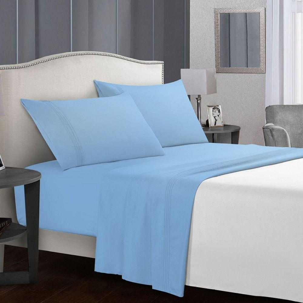 Finely Woven With 100 Polyester Fabric Microfiber Beddings Are Excelled Choice Adding Delightful Comfort In Your Sleep Times In 2020 Best Sheet Sets Sheet Sets Best Sheets