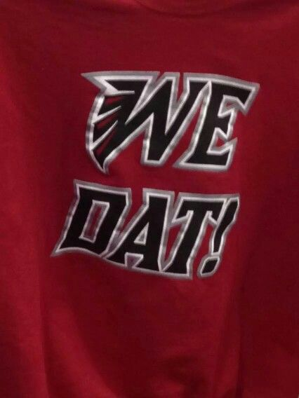 Who Dat...Go Falcons!!  a92870dc4