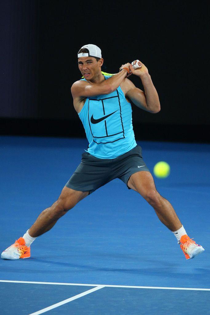 hermosa Antibióticos Agente de mudanzas  Nadal à l'entraînement ATP Nadal Vamos Rafa Nike Melbourne GC Australie Nike  Court Babolat | Rafael nadal, Tennis champion, Nadal tennis