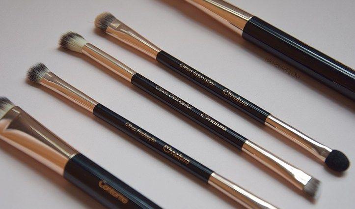 f10d67542 Reseña: Pinceles para maquillaje Natura UNA   Maquillajes   Pinceles ...