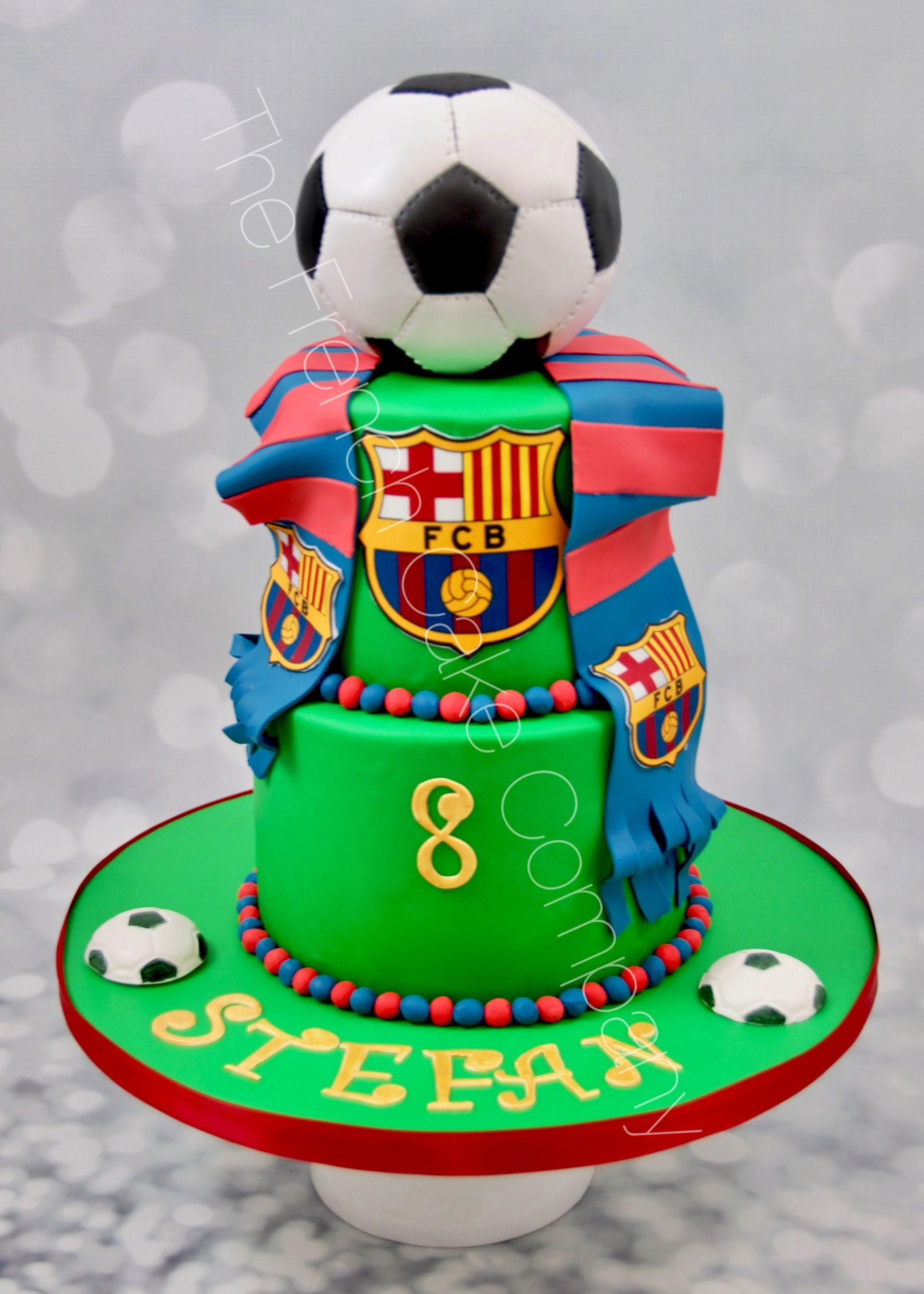 Pi Ce Mont E Anniversaire Football Fc Barcelona G Teau Sport