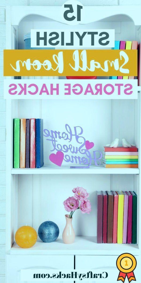 Diese Ideen zur Aufbewahrung und Organisation kleiner Räume werden Sie zum Nach…