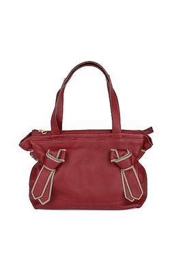 Exclusive high-grain leather in a beautiful shade of red. See by Chloé.