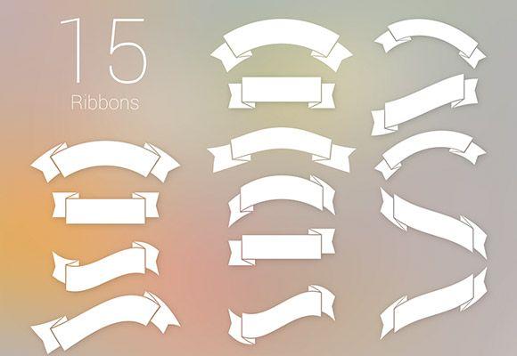 15 Free Psd Ribbons Ribbon Banner Design Free Photoshop